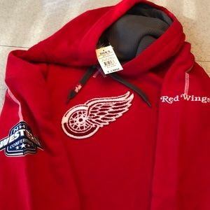 Detroit Red Wings NEW w/tags NHL Hoodie Size XL